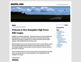 nhhprl.org screenshot