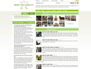 nhipcaugiaoly.com screenshot