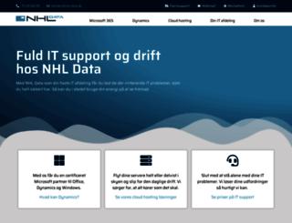 nhl-data.dk screenshot