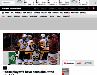 nhl.si.com screenshot