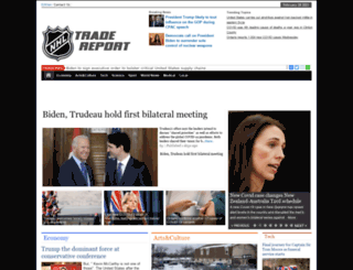 nhltradereport.com screenshot