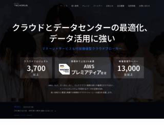 nhn-techorus.com screenshot