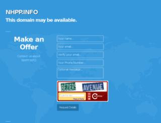 nhpp.info screenshot