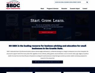 nhsbdc.org screenshot