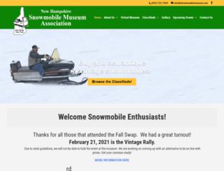 nhsnowmobilemuseum.com screenshot
