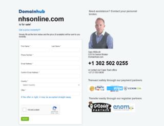 nhsonline.com screenshot