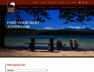 nhstateparks.org screenshot