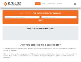 nhsuniformtaxrebate.co.uk screenshot