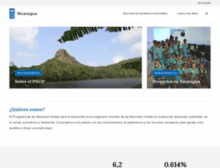 ni.undp.org screenshot