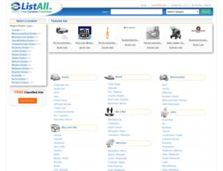 niagara-region.listall.ca screenshot