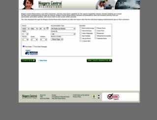niagaracentralreservations.com screenshot