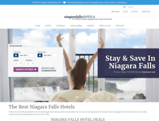 niagarafallshoteldeals.com screenshot