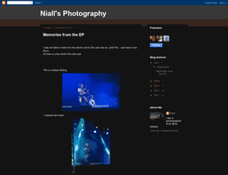 niallphotography.blogspot.ie screenshot