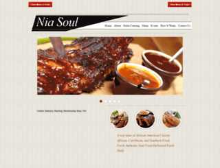 niasoulfoods.com screenshot