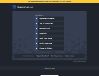 niazemarkazi.com screenshot