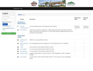 nibley.sportsites.com screenshot