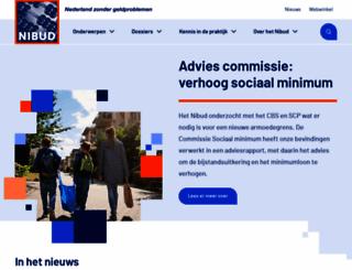nibud.nl screenshot