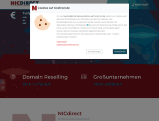 nic-direct.de screenshot