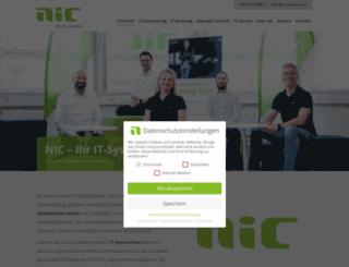 nic-systemhaus.com screenshot