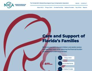 nica.com screenshot