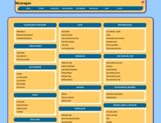 nicaragua.allepaginas.nl screenshot