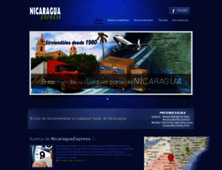 nicaraguaexpress.com screenshot