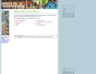 nicaraguahostel.com screenshot