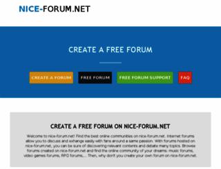 nice-forum.net screenshot