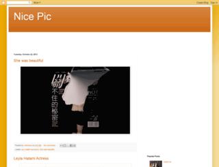 nice-pic-nice.blogspot.com screenshot