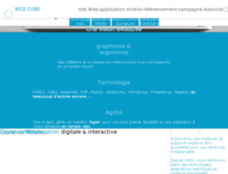 nicecube.fr screenshot