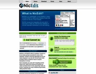 nicedit.com screenshot
