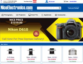 niceelectronics.com screenshot