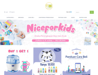 niceforkids.com screenshot