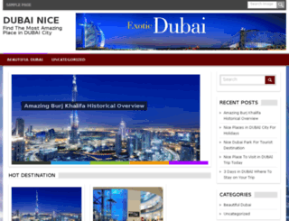niceindubai.info screenshot