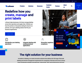 nicelabel.com screenshot