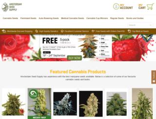 nicemarijuanaseeds.com screenshot