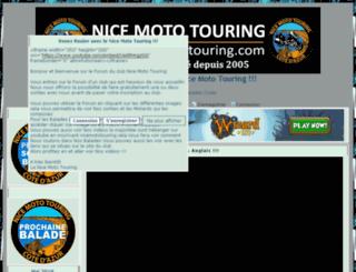 nicemototouring.positifforum.com screenshot