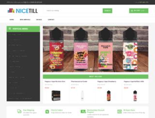 nicetill.com screenshot