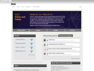 niceusergroup.org screenshot