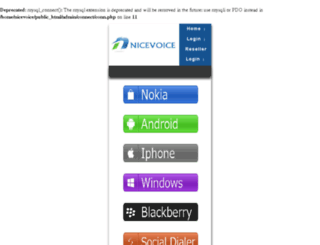 nicevoice.in screenshot