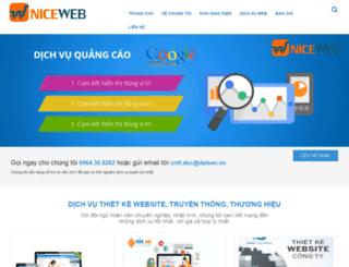 niceweb.vn screenshot