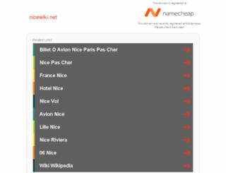 nicewiki.net screenshot