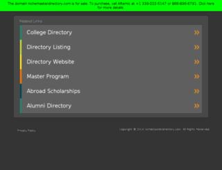 nichemasterdirectory.com screenshot