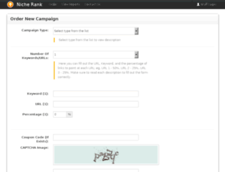 nicherank.com screenshot