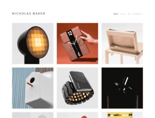 nicholas-baker.com screenshot