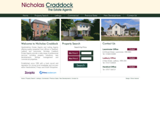 nicholas-craddock.co.uk screenshot