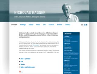 nicholashagger.co.uk screenshot