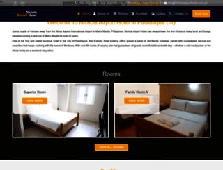 nicholsairporthotel.com.ph screenshot