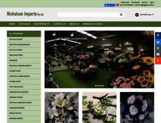 nicholsonimports.com.au screenshot