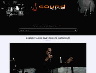 nick-cave.com screenshot
